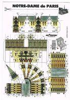 PARIS  75  Notre Dame . Maquette A Decouper - Notre Dame De Paris