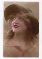 128 - MODE  -  Jeune Femme  - Chapeau Original - Mode