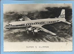 Douglas Super DC7 Clipper Bald Eagle Of Pan American World Airways PAA N731PA 2scans - 1946-....: Ere Moderne