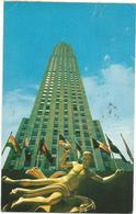 W2801 New York - RCA Building - The Highest Building In Rockfeller Center / Viaggiata 1960 - Manhattan