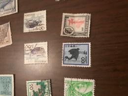 GIAPPONE UCCELLI STILIZZATI - Stamps