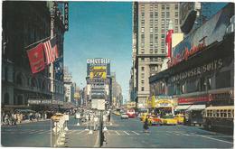 W2803 New York - Times Square - Auto Cars Voitures / Non Viaggiata - Time Square