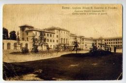 Roma - Legione Allievi R.guardia Di Finanza - Caserma Vittorio Emanuele III - Cortile Interno E Percorso Di Guerra - For - Roma (Rome)
