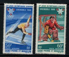 St.Pierre Et Miquelon // 1968 //  Poste Aérienne No.40-41 Y&T  Timbres Neufs ** MNH (sans Charnière) - Poste Aérienne