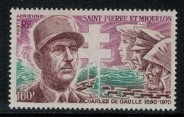 St.Pierre Et Miquelon // 1972 //  Poste Aérienne No.53 Y&T  Timbres Neufs ** MNH (sans Charnière) - Neufs
