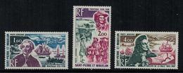 St.Pierre Et Miquelon // 1973 //  Poste Aérienne No.54-56 Y&T  Timbres Neufs ** MNH (sans Charnière) - Poste Aérienne