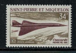 St.Pierre Et Miquelon // 1969 //  Poste Aérienne No.43 Y&T  Timbres Neufs ** MNH (sans Charnière) - Poste Aérienne