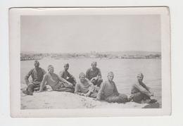 #26787 Vintage Ww2 Orig Photo Bulgarian Soldiers In Occ Greece Alexandroupoli - Guerra, Militares