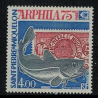 St.Pierre Et Miquelon // 1975 //  Poste Aérienne No.60 Y&T  Timbres Neufs ** MNH (sans Charnière) - Poste Aérienne