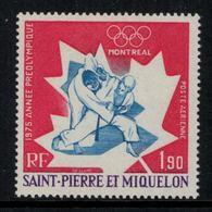 St.Pierre Et Miquelon // 1975 //  Poste Aérienne No.61 Y&T  Timbres Neufs ** MNH (sans Charnière) - Poste Aérienne