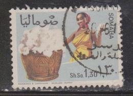 SOMALIA Scott # 330 Used - Woman With Basket Of Cotton Bolls - Somalia (1960-...)