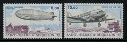 St.Pierre Et Miquelon // 1988 //  Poste Aérienne No.66-67 Y&T  Timbres Neufs ** MNH (sans Charnière) - Poste Aérienne