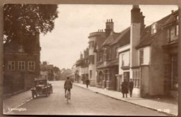 Lymington Steet Scene Posted 1932 - England