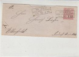 Brief Nit KASTENSTEMPEL NEUHAUS Reg.Bez.MINDEN 18.6.70 / Erhalt - Norddeutscher Postbezirk
