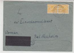 Briief Mit AM-Post Marken 6Pf (13 Fy) Aus WILDEMANN (Oberharz) 29.10.45 - Bizone