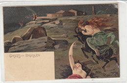 Gruss Vom Brocken - Beschnitten - Künstlerkarten