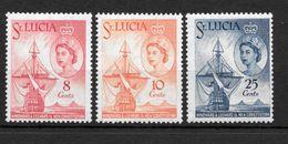 St Lucia, 1960, SG 188 - 190, MNH - St.Lucia (...-1978)