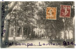 - GRANS  - ( B.-du-R ) - Le Cours, écrite, 1930, épaisse, Cliché Peu Courant, TBE, Scans . - Autres Communes