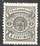 Prifix 40 2 Cent. Noir * - 1859-1880 Wappen & Heraldik