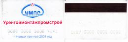Russia. Pass. UMPS.  New  Urengoyi  2001 - Russie