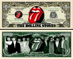 USA - FANTASY NOTE -  THE  ROLLING  STONES  BAND  - UNC - United States Of America