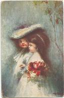 W2837 Tranquillo Cremona - Silenzio Amoroso - Dipinto Paint Peinture / Viaggiata 1918 - Peintures & Tableaux