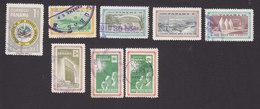 Panama, Scott #414, 418-421, 423-424, 426, Used, American States, World's Fair, UN, UN Overprinted, Issued 1958-59 - Panama