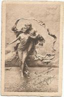W2840 D. Mastroianni - Sfiorando L'azzurro - Scultura Sculpture / Non Viaggiata - Sculture