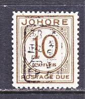 JAPANESE  OCCUPATION  JOHORE  N J  4      * - Grande-Bretagne (ex-colonies & Protectorats)