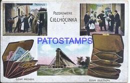 111741 POLAND CIECHOCINKA MULTI VIEW SPOTTED POSTAL POSTCARD - Pologne