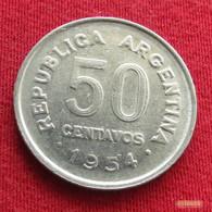 Argentina 50 Centavos 1954 KM# 49  Argentine Argentinie - Argentina