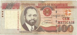 Mozambique - 100 Meticais - 16.06.2006 - P 145 - Serie CH - Used - Mozambique