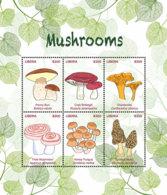 Liberia  2018  Mushrooms  I201901 - Liberia