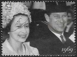 GB SG2783 2007 Diamond Wedding 54p Good/fine Used [5/5531/25D] - Used Stamps