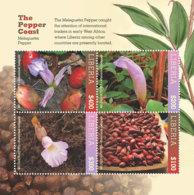 Liberia  2018 Pepper Flower   I201901 - Liberia