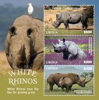 Liberia  2019  Fauna White Rhino   I201901 - Liberia