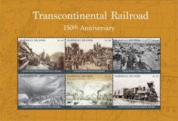 Marshall Islands   2018 Transcontinental Railroad    I201901 - Marshall Islands