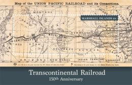Marshall Islands   2018 Transcontinental Railroad   Map   I201901 - Marshall Islands