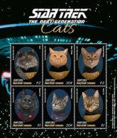 Marshall Islands   2018  Fauna  STAR TREK CATS   I201901 - Marshall Islands