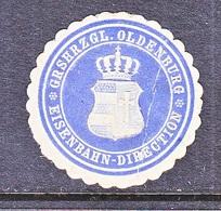 GERMANY   OLDERBURG  EISENBAHN  * - Oldenburg