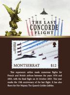 Montserrat    2018     Concorde Airplane   I201901 - Montserrat