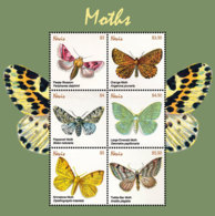 Nevis   2018  Fauna  Moths  I201901 - St.Kitts And Nevis ( 1983-...)