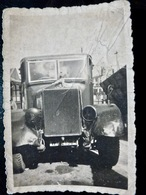 PHOTO ORIGINALE _ VINTAGE SNAPSHOT : CAMION _ ENDOMMAGE _ ACCIDENT _ ALLEMAGNE _ ANNEES 40   //Div.3 - Cars