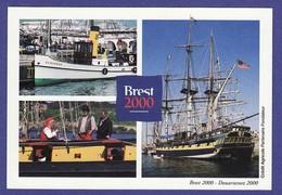BREST DOUARNENEZ 2000 Multivue  Vieilles Coques  (cp Non Ecrite TTB état ) K239) - Brest
