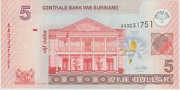 5 DOLLARS 2004 - Surinam