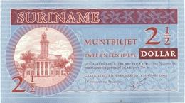2 1/2 DOLLARS 2004 - Surinam