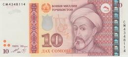 10 SOMONI 2013 - Tadjikistan
