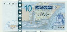 10 DINARS 2005 - Tunisia