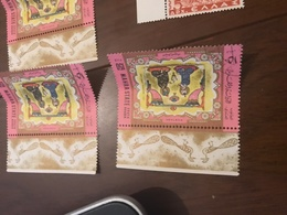 EMIRATI ARABI ALLEGORIE BORDO FOGLIO - Stamps
