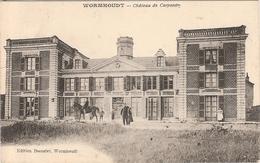 CPA Wormhout Wormhoudt Château De Carpentry 59 Nord - Wormhout
